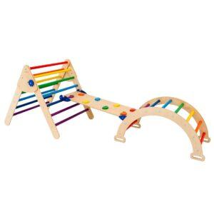 Waldorf Climbing Arch Toy